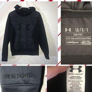 UNDER ARMOR hoodie!! Like new! 🖤🤗
